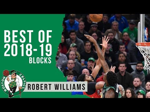 Robert Williams Best Blocks 2018/19 NBA Regular Season