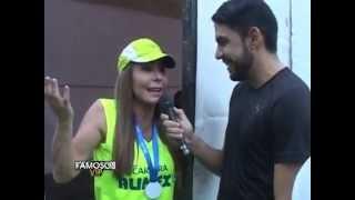 Viviana Gibelli Entrevista paparazzi con Jose Alejandro Romero