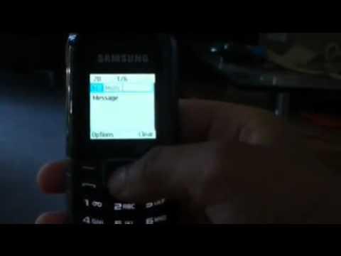 Hands on: Samsung E1080