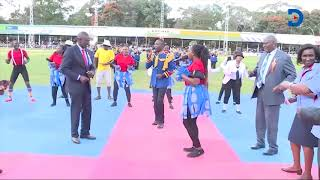 Dp Ruto Dance Moves: His foot tapped to the steady beat. Back and forth, he swayed with style