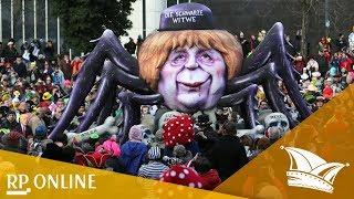 Rosenmontag in Düsseldorf 2018: Das sagen die Narren zu den Mottowagen