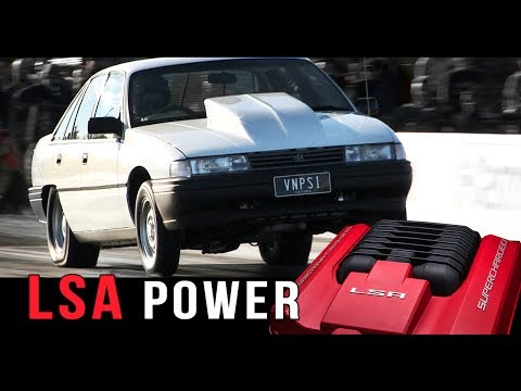 LSA powered V8 Holden Commodore | VNPSI