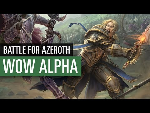 WoW: Battle for Azeroth: Let's Play Alpha - wir spielen die Allianz!