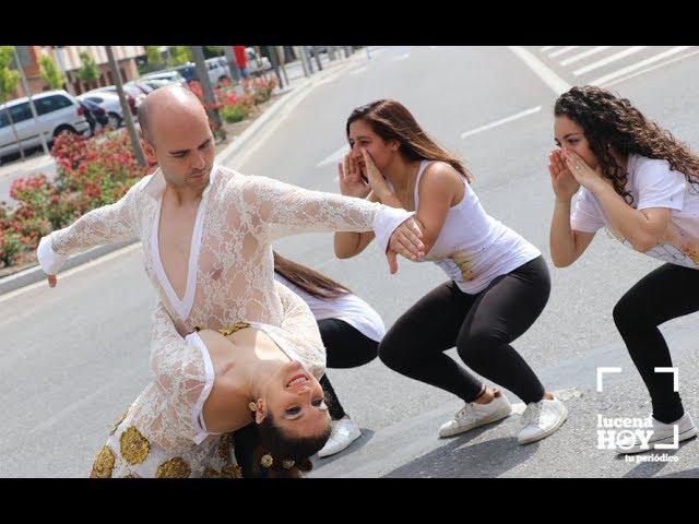 """VÍDEO: Componentes de la Escuela de Baile """"Paradise"""" realizan un vídeo para promocionar la candidatura de Lucena como Ciudad Creativa de la Música"""