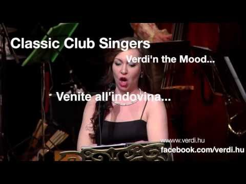 "Viktória Mester sing ""Venite all&39;indovina"" in Classic Club Singers concert"