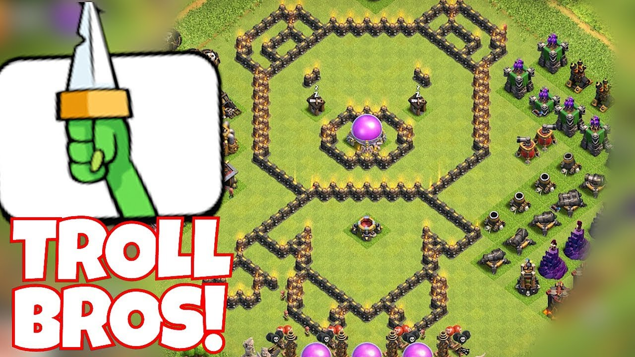 """TROLL BROTHERS WAR """"Clash Of Clans"""" LETS GO"""