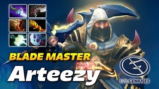 Arteezy Juggernaut [BLADE MASTER] Dota 2 Pro Gameplay