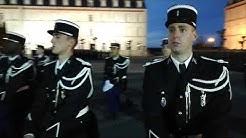 Cérémonie de baptême de promotion 1 ere cie 491ème promotion école de Gendarmerie de Chaumont