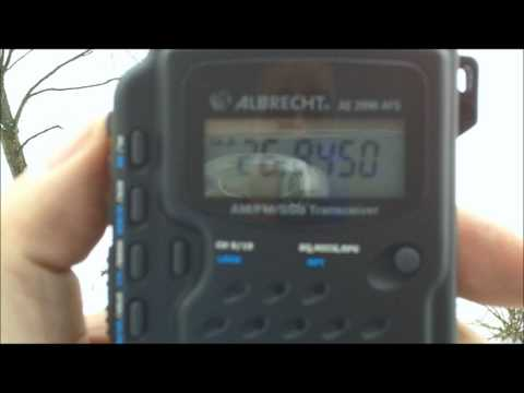 Albrecht AE2990AFS SSB Handheld NOW HERE