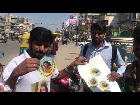 Prajaakiya publicity in Bangalore KR nagara