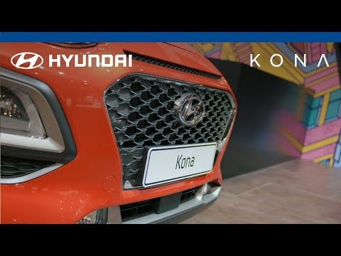 Hyundai KONA @ Brussels Motor Show 2018