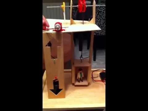 Proyecto de tecnolog a ascensor montacargas youtube for Materiales para hacer un ascensor