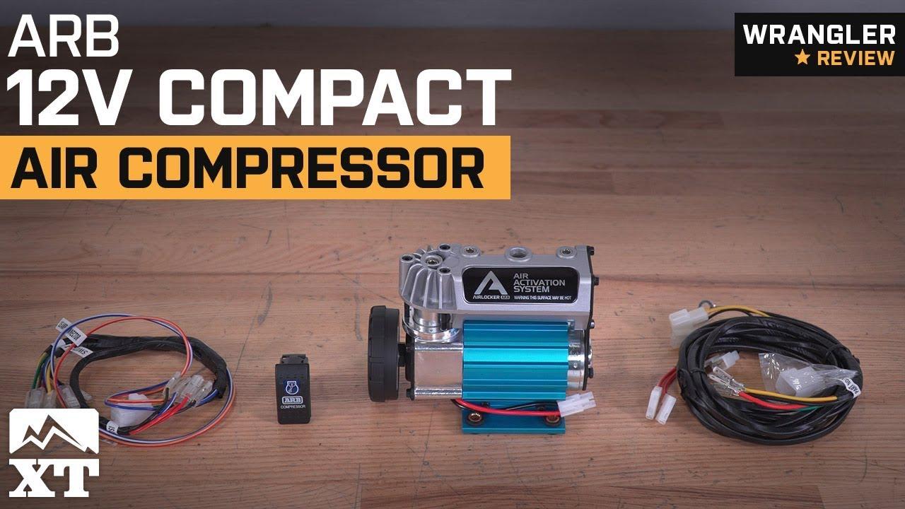 jeep wrangler arb 12v compact air compressor review