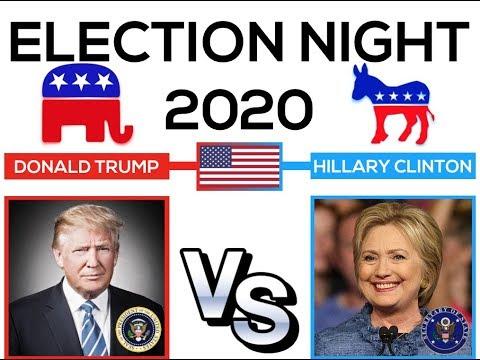 Election Night 2020 | Hillary Clinton vs Donald Trump