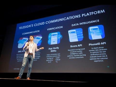 Shaping The World's B2C Communications Of Tomorrow - Dr Miloš Borenović, TeleSign (INAT Summit 2018)