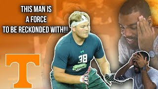 Is This The Best Lineman In The Nation?!?!- Cade Mays Highlights [Reaction]