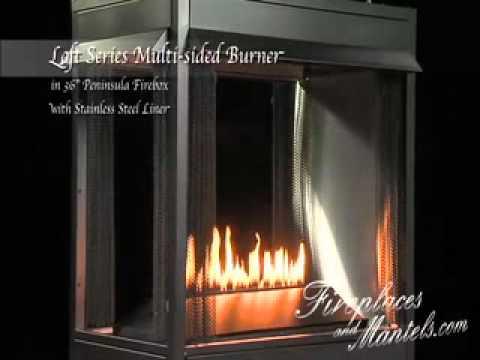 Empire Comfort Systems Loft Series Burner and Breckenridge Vent ...