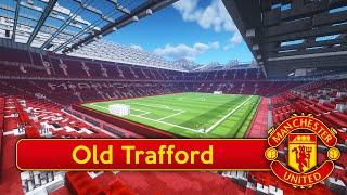 Minecraft - MEGABUILD - Old Trafford (Man. United) + DOWNLOAD [Official]