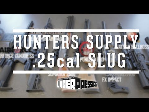 New .25 Cal Airgun Hunting Slugs