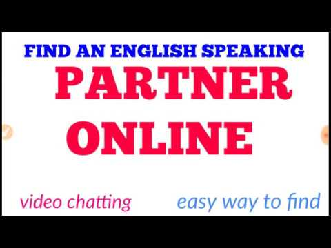 How To Video Chatting With English Speaking Partner Online || How To Find English Speaking Partner