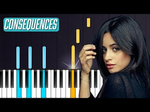 "Camila Cabello - ""Consequences"" Piano Tutorial - Chords - How To Play - Cover"