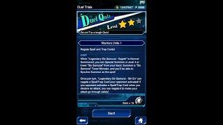 Yugioh Duel Links - Duel Quiz Level 2 : Warriors Unite 1
