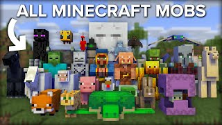 I Collected Every M๐b in Minecraft Survival