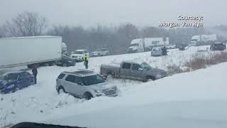 Categories video Wisconsin Interstate 94 Crash