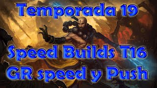 Diablo 3 Temporada 19: Builds de Monje Speed T16, Speed GR y Push GR
