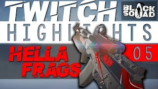 HELLA FRAGS | Flexinja Twitch Highlights #5 (Black Squad)