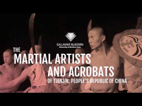 The Martial Artists and Acrobats of Tianjin, People's Republic of China at Gallagher Bluedorn