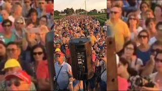 Manifestazione Specchiaria contro depuratore a Urmo 16 luglio 2017