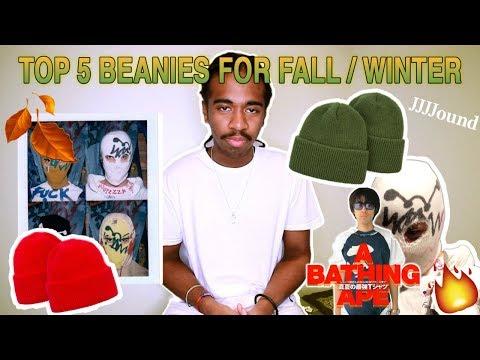 Top 5 beanies for Fall / Winter | jjjjound , Bape + more