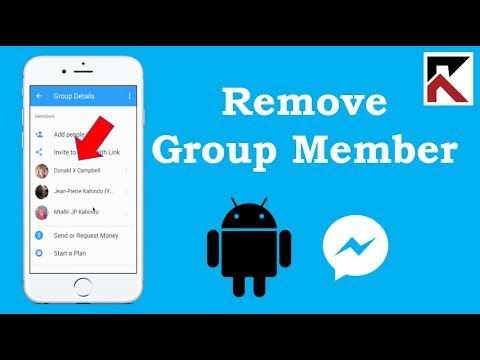 How to remove someone from a group chat on facebook