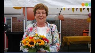Juf Jannie van Laar van de Nassauschool gaat met pensioen