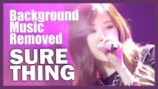 Video [BGM REMOVED] 170813 BLACKPINK - SURE THING @ JYP's Party People download MP3, 3GP, MP4, WEBM, AVI, FLV Desember 2017