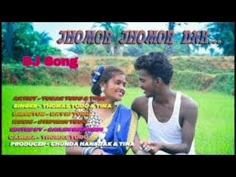 Jhomor Jhomor Dak..Santali Dj Song New Santali Video 2019 // Bisham Kisku Orgester Dj Song