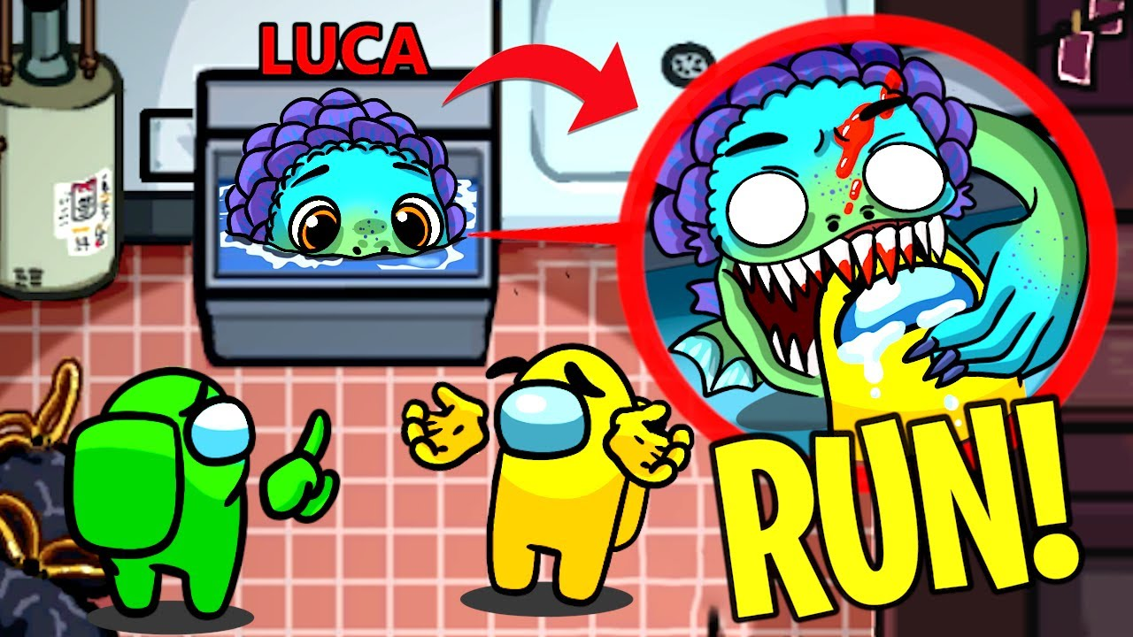 Download If You See IMPOSTER LUCA In Among Us, RUN AWAY FAST!