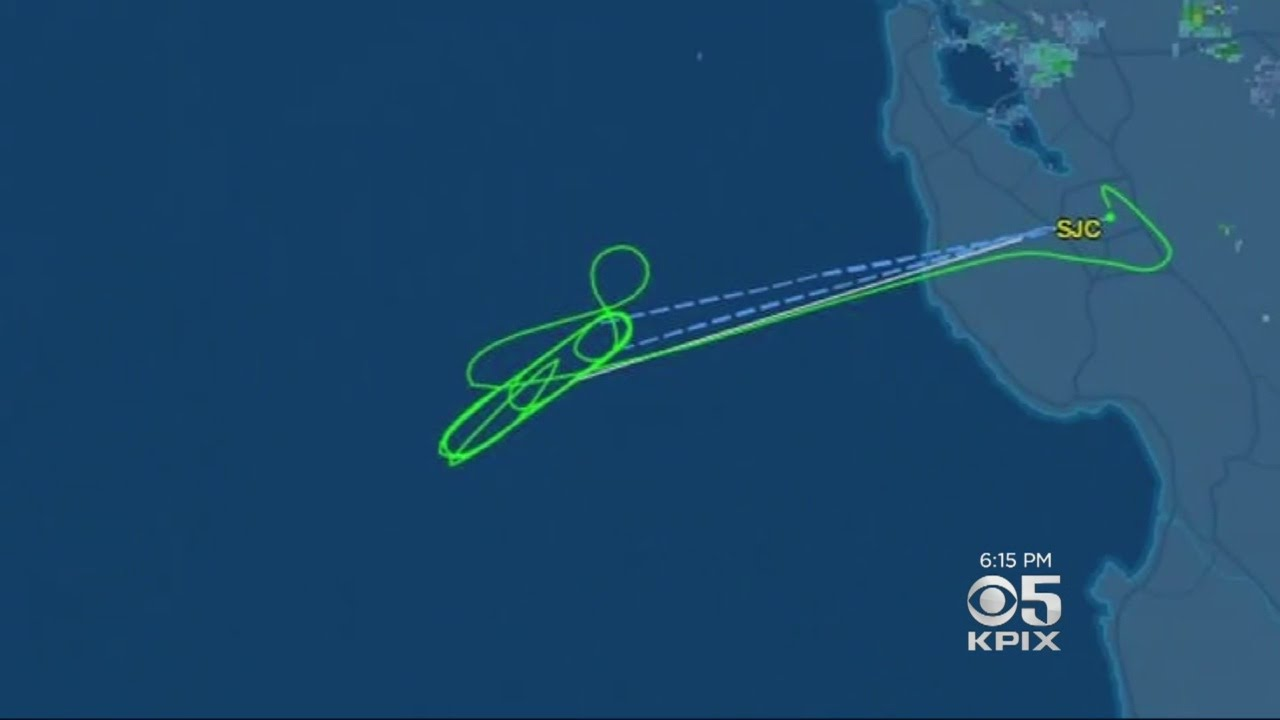 Map Of California And Hawaii.Flight To Hawaii Circled For 4 Hours Before Returning Back To California