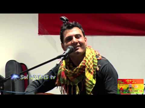 Kurdisches Newroz 2016 in Essen: Haki Botan live on Stage