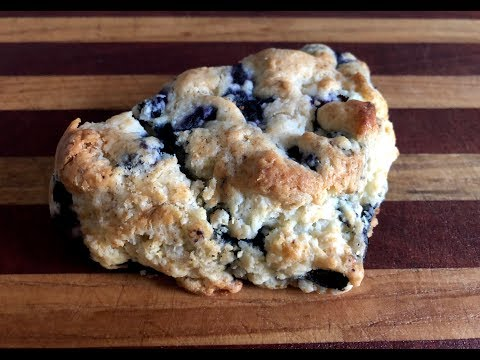 Lemon Blueberry Scones - You Suck at Cooking (episode 78)