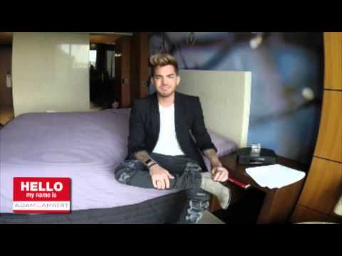 Adam Lambert - Warner  Australias Hello My Name Is