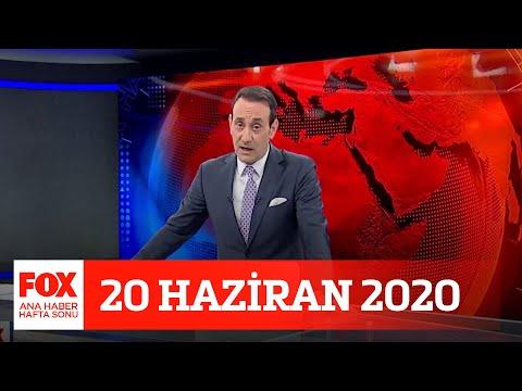 Alım gücünde düşüş! 20 Haziran 2020 FOX Ana Haber Hafta Sonu
