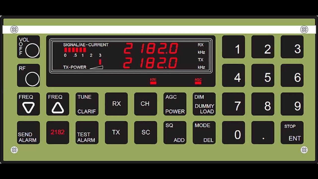 Tallinn radio receiced on 2182 kHz MF