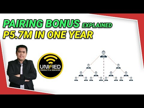 Видео: How To Earn P5.7M in One Year sa Unified via Pairing Bonus Alone