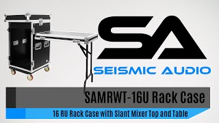 Seismic Audio SAMRWT 16U Rack Case (Official)