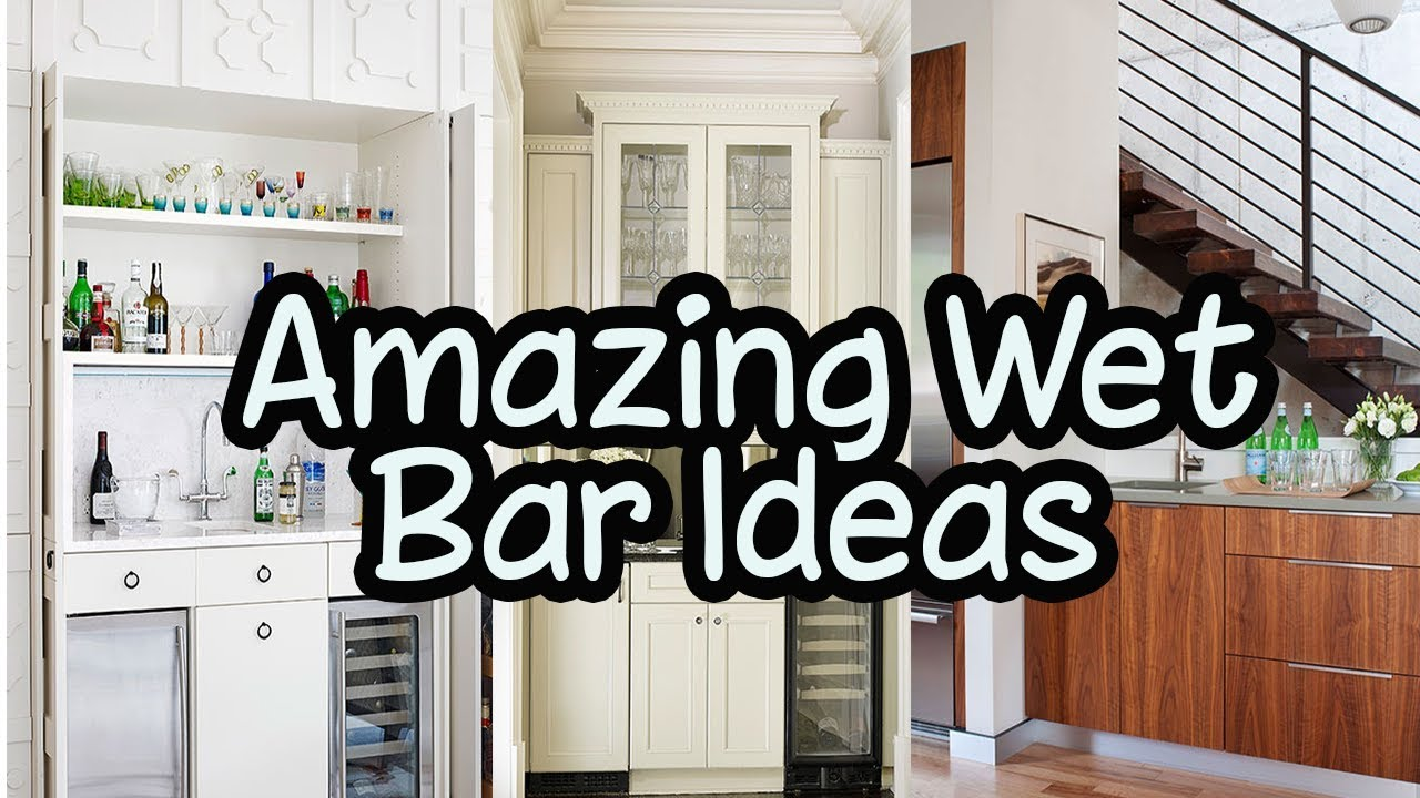 9 Amazing Wet Bar Ideas