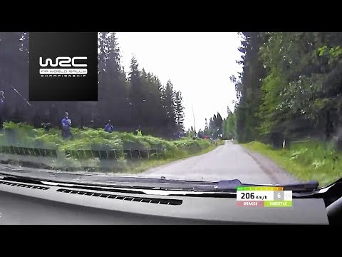 WRC - Neste Rally Finland 2017: Lappi flat out