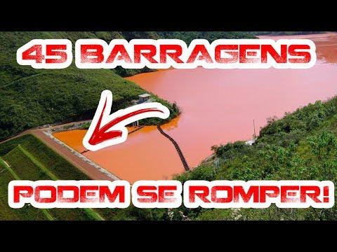 Há 45 barragens que podem se romper a qualquer momento!