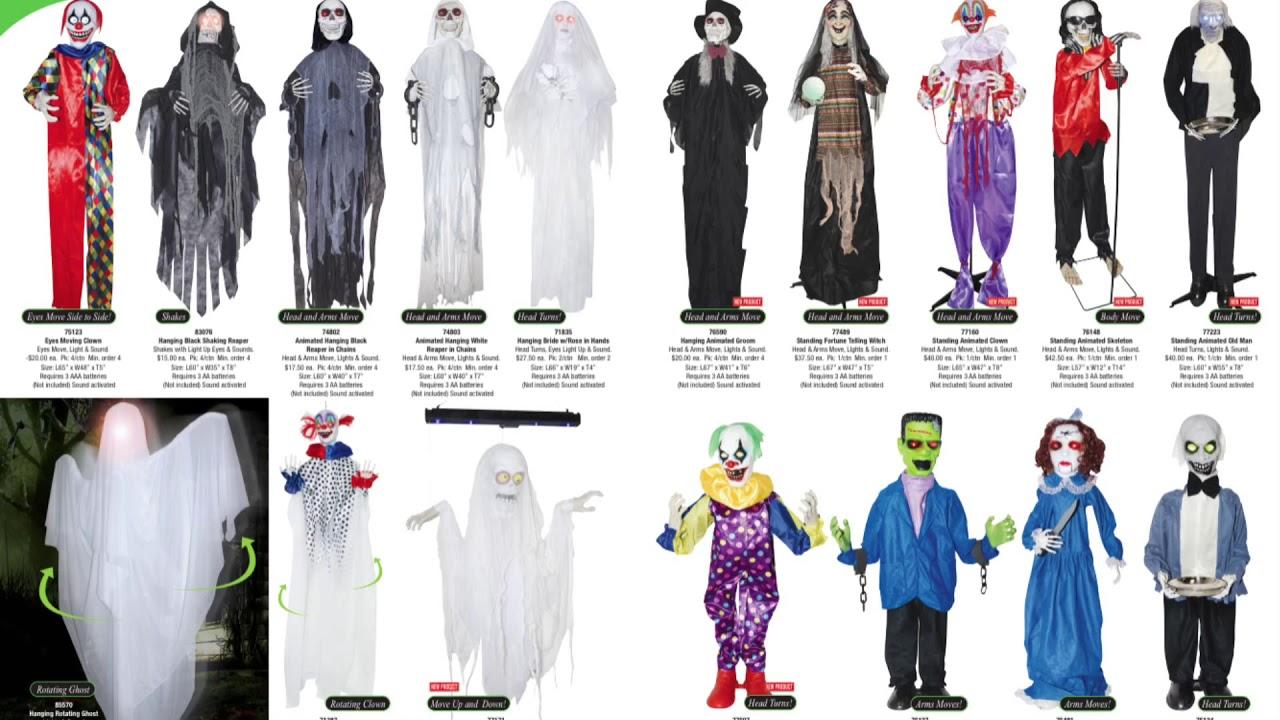 Animatronic Halloween Props